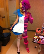 Creative DIY Costume Ideas for Women - Homemade Cheshire Cat costume