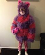 DIY Girl's Cheshire Cat Costume