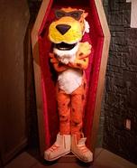 Chester Cheetah Homemade Costume