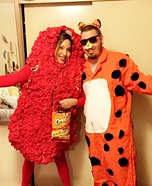 Chester the Cheetah and his Hot Cheeto Homemade Costume
