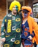 Chicago Bears / Green Bay Packers Homemade Costume