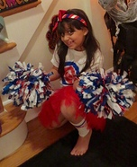 Chicago Cubs Cheerleader Homemade Costume