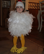 Homemade Chick Costume