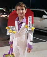 Chick Magnet Homemade Costume
