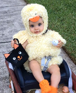 Chick on the Move Homemade Costume