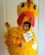 Chicken Homemade Costume