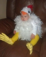 Chicken Baby Costume DIY