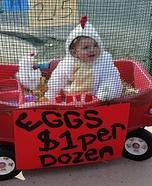 Chicken Baby Halloween Costume