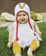 Chicken Baby Homemade Costume