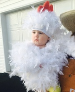Chicken Cuteness Homemade Costume