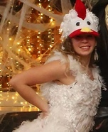Chicken in Town Homemade Costume