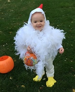 Chicken Little Homemade Costume