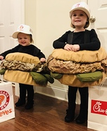Chicken Sandwich Wars Homemade Costume