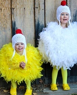 Chicken Twins Homemade Costume