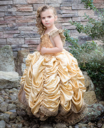Child Belle Homemade Costume