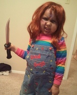 Chucky Costume for Girls