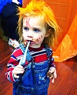 Child's Play Chucky Homemade Costume