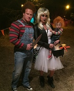 Child's Play Chucky Family Homemade Costume