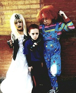 Child's Play - Tiffany, Glen and Chucky Homemade Costume