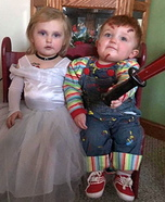 Child's Plays Chucky & Tiffany Homemade Costume
