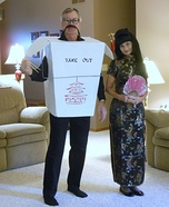 Chineese Take Out Homemade Costume