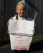 Takeout Box Costume