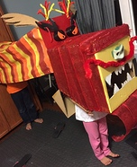 Chinese Dragon Homemade Costume