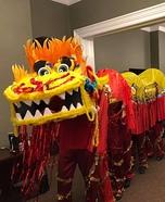 Chinese Dragon Homemade Costume