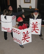 Chinese Food Take-Out Homemade Costume