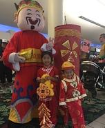 Chinese New Year Celebration Homemade Costume