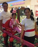 Chinese Princess Homemade Costume