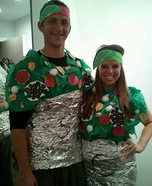 Chipotle Burritos Costume