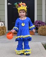 Chiquita Banana Girl Homemade Costume