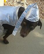 Chocolate Hershey Kiss Dog Homemade Costume