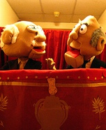 Waldorf and Statler characters costume