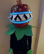 Chomper from Plants vs Zombies Homemade Costume