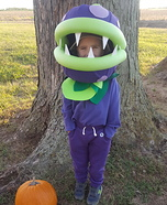 Chomper Plant Homemade Costume
