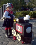 Choo Choo Train Costume Idea