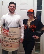 Chris Davis - Reason for Suspension Homemade Costume