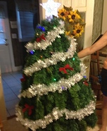 Homemade Christmas Tree Costume