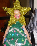 Christmas Tree Homemade Costume for Kids