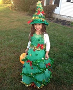 Christmas Tree Homemade Costume