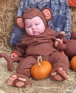 Chubby Monkey Baby Costume