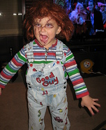 Homemade Chuckie costume