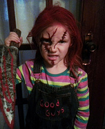 Chucky Homemade Costume