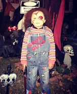 Homemade Chucky Costume for Boys