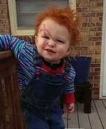 Chucky Baby DIY Halloween Costume