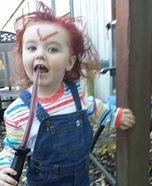 Childs Play Chucky Baby Costume