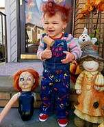 Infant Chucky Homemade Costume
