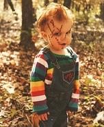 Homemade Baby Chucky Costume